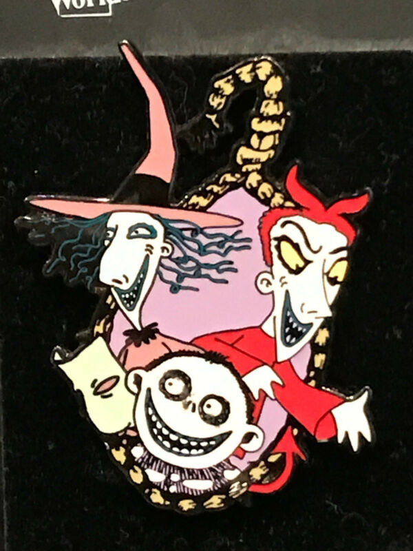 Disney Pin - Nightmare Before Christmas - Hanging Lock, Shock and ...