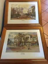 Set of 2 framed d'Arcy Doyle prints Broadbeach Waters Gold Coast City Preview