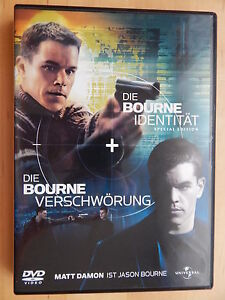DIE BOURNE IDENTITÄT & DIE BOURNE VERSCHWÖRUNG - Matt Damon - <span itemprop='availableAtOrFrom'>Hausmannstätten, Österreich</span> - DIE BOURNE IDENTITÄT & DIE BOURNE VERSCHWÖRUNG - Matt Damon - Hausmannstätten, Österreich