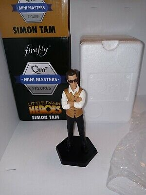 SIMON TAM Firefly Figure QmX Mini Masters Little Damn Heroes - New With Box