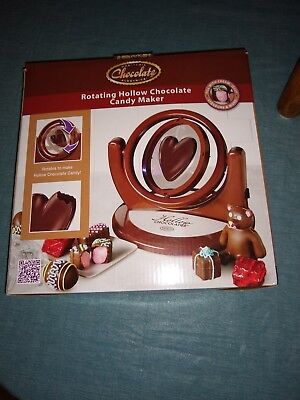 Nostalgia Chocolate Electrics Rotating Hollow Chocolate Candy Maker