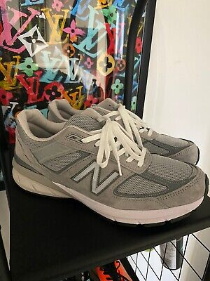 New Balance 990 v5 in Grey Men's Trainers UK10