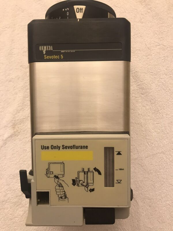 Datex Ohmeda Sevoflurane, SEVO TEC 5 Vap Vaporizer