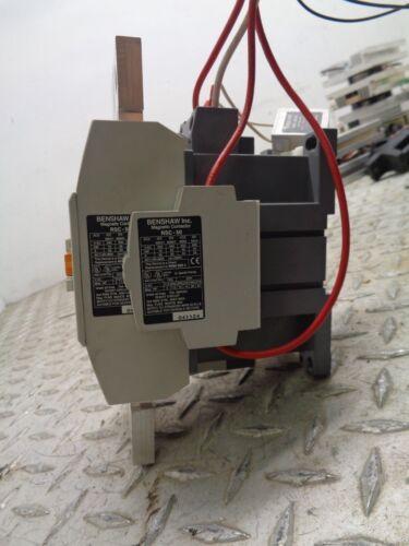 Benshaw NEMA SIZE 2 Contactor 70 AMP 600 V 3 Pole RSC-50 *TESTED