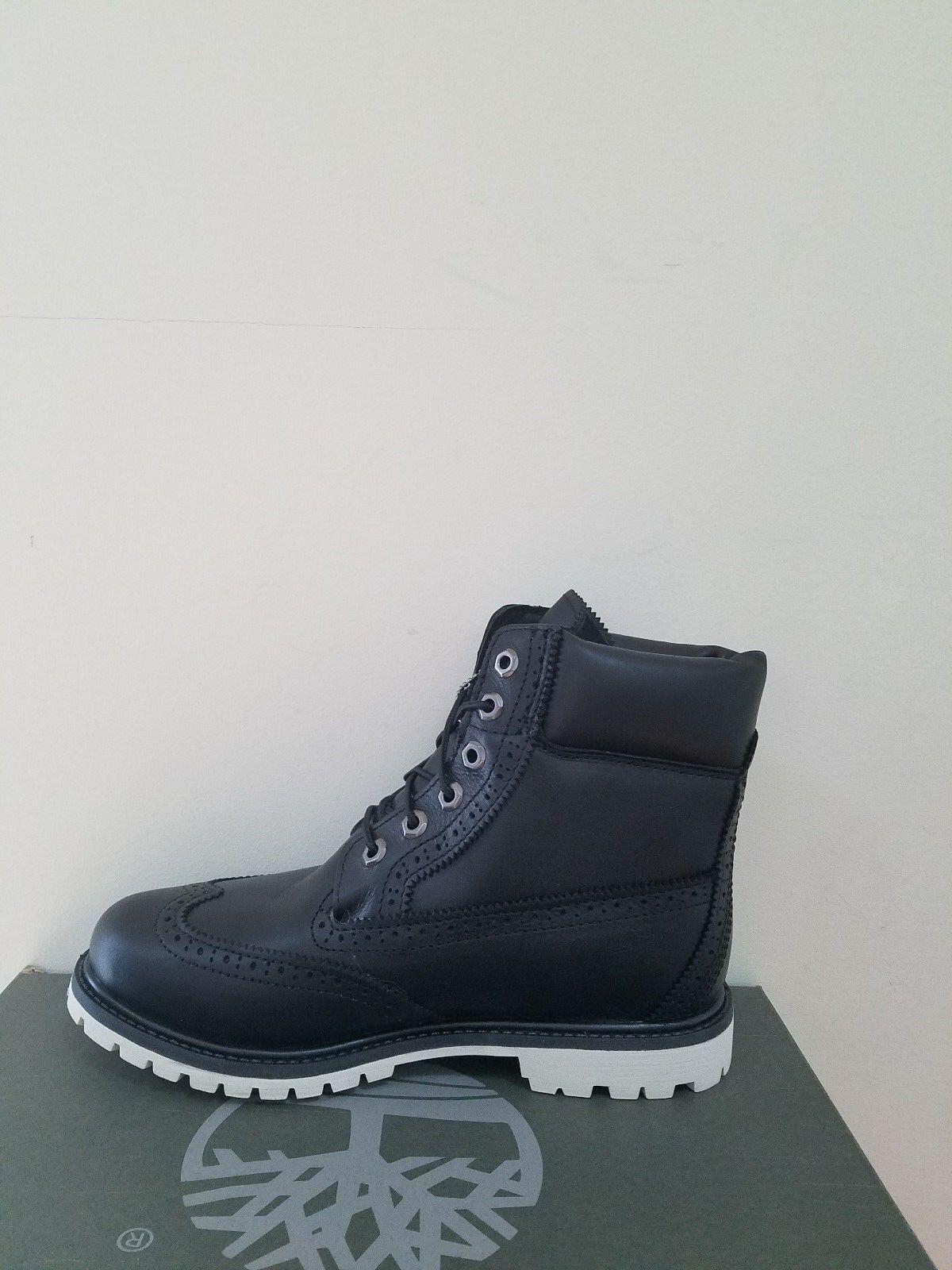 "Timberland Women's  6 inch""  Premium Brogue Waterproof Boots NIB 1"
