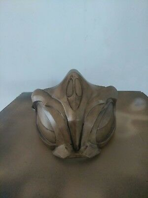 Scorpion Mask (Mortal Kombat 11 Scorpion's Netherrealm Rage mask. This is a wearable mask.)