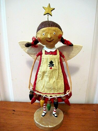 ESC Lori Mitchell New Christmas Tree Trimming Angel Figure