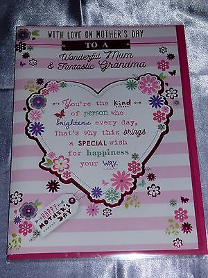 MOTHERS DAY CARD TO A MUM AND GRANDMA TRADITIONAL DUAL CARD FOR MUM & GRANDMA](Mothers Day Cards For Grandma)