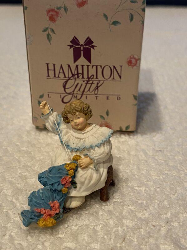 """HAMILTON GIFTS LMTD-MAUD HUMPHREY BOGART"" MINIATURE FIGURINE: THE SEAMSTRESS"