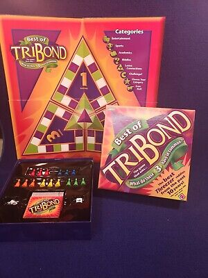 LOOK! BEST of TRIBOND Board Game Educational Classroom Mattel Threezrer (Best Educational Board Games)