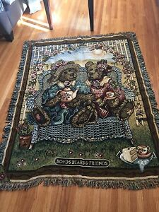 Boyd's Bears throw or wall hanging