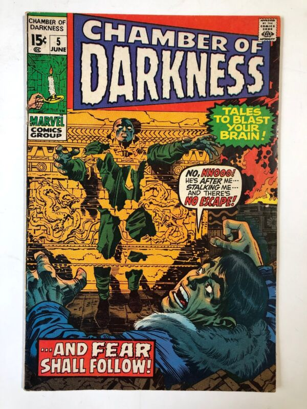 Chamber of Darkness #5, VG/Fine condition