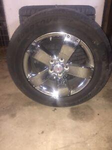 4 Wheels off of a Pontiac Torrent