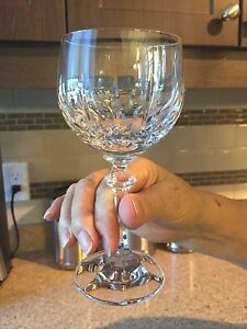 Chrystal wine glasses