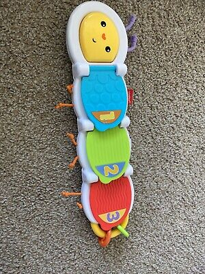 Fisher-Price Flip & Surprise Caterpillar Developmental Learning Baby Toy