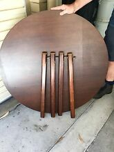 2 Tables - 1 Square Table and 1 Round Table Hunters Hill Hunters Hill Area Preview