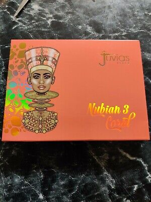 BRAND NEW JUVIAS PLACE THE NUBIAN 3 CORAL PALETTE