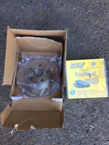 Cavalier/sunfire front set of brake pads and rotors