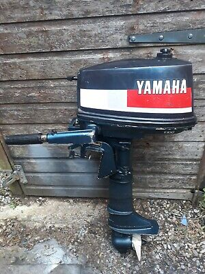 YAMAHA 4HP OUTBOARD ENGINE SHORTSHAFT 2STROKE