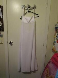 Studibaker Designer White Dress (One Of A Kind) Size 16 Campbell North Canberra Preview