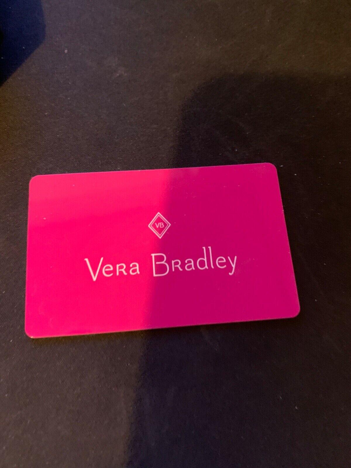 Vera Bradley Gift Card 67.00 - $56.00