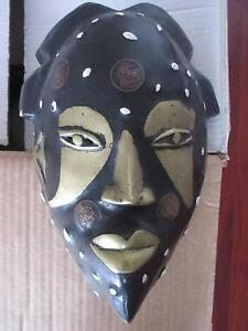 AFRICAN WOODEN/METAL FACE MASK Port Macquarie Port Macquarie City Preview