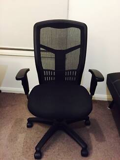 Executive High-Back Office Chair, Mesh Fabric Glen Iris Boroondara Area Preview