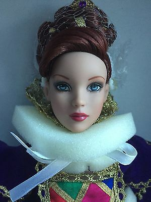 """Tonner Tyler 16"""" 2007 Cinderella Masquerade Ball Signed Convention Doll NRFB BW"""