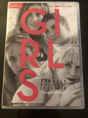Girls Finally Piecing It Together The Complete Fifth Season HBO 2 Disc DVD - $10.20