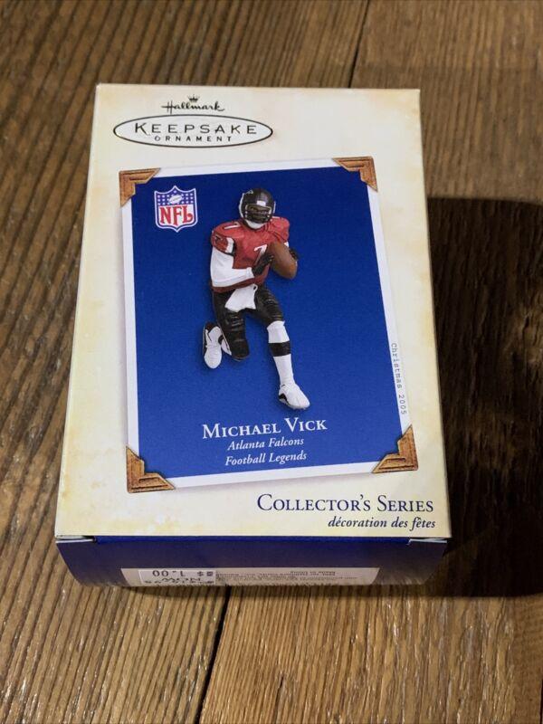 2005 Hallmark Michael Vick Ornament #11 Football Legends Atlanta Falcons NFL