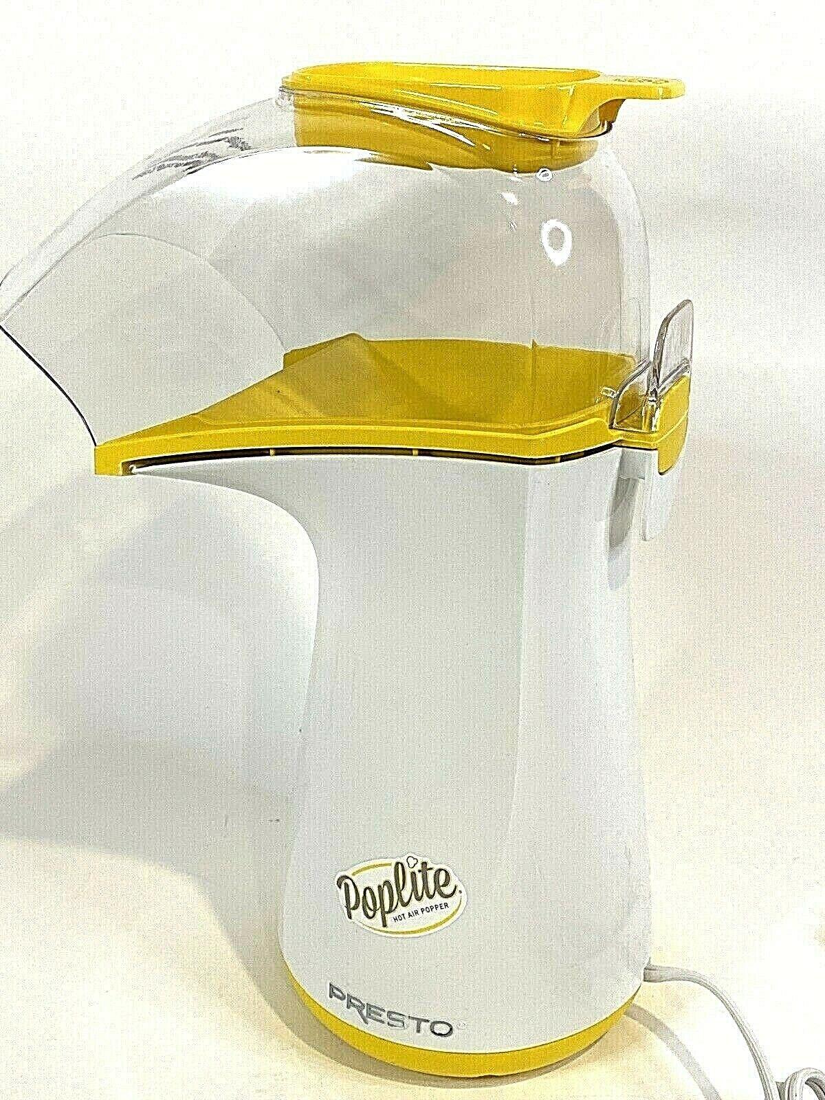 PRESTO PopLite Hot Air Corn Popper MODEL #04820 - Excellent
