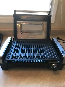 Hamilton Beach grill $20 (clean and only used once)