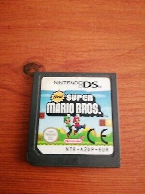 NEW SUPER MARIO BROS ! PAL ! CARTRIDGE ONLY !  NINTENDO DS + 3DS + 2DS tested