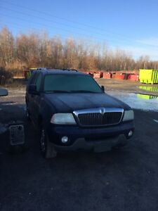 Parting out 2004 Lincoln Aviator