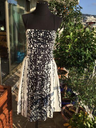 Superbe robe coton agnes b 36 tbe