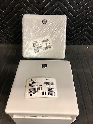 Lot Of 2 Hoffman - Pn A606chfl - Electrical Enclosure Box - New 6x6x4