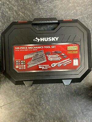 Husky 1/4 in. 3/8 in. and 1/2 in. Drive Mechanics Tool Set (149-Piece) H149MTS