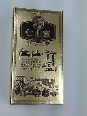 Insan bamboo salt 100% (9 times roast) granule 240g