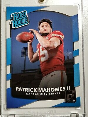 Patrick Mahomes 2017 Donruss Rated Rookie Chiefs #327 PSA 10!!?? Beautiful Card!