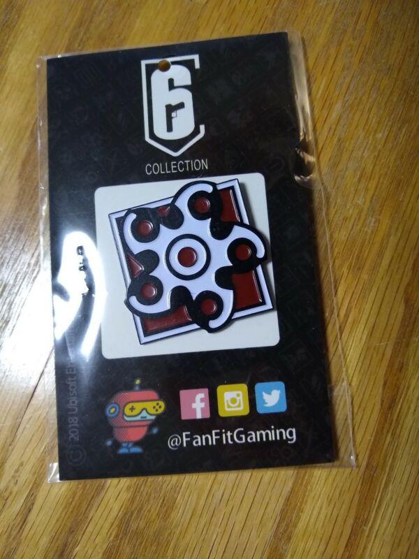 Hibana Enamel Pin (Rainbow Six: Siege) FanFit Gaming
