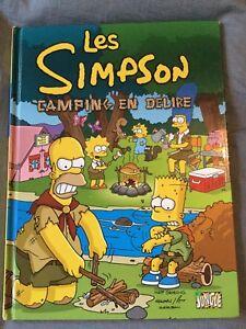 Les Simpson, Tome 1 - Camping en délire