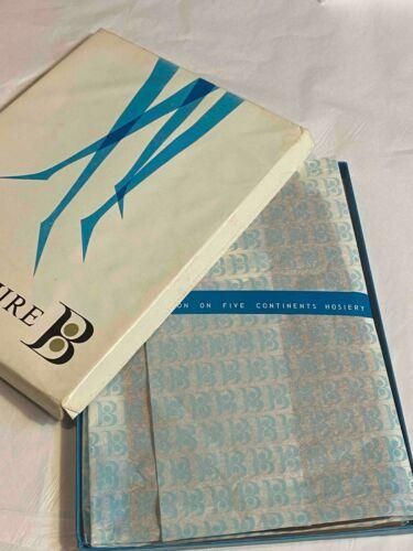 "VTG 3 Pr 10.5""x35"" 10.5 L Berkshire 100% Nylon Stockings Hose Hosiery Tint Dress"