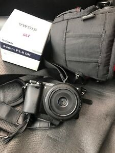 Sony A6000 with Case, Lens