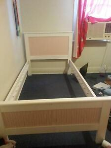Girls KING SINGLE bed frame with slats New Lambton Newcastle Area Preview