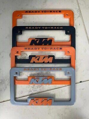 Ktm license plate frame