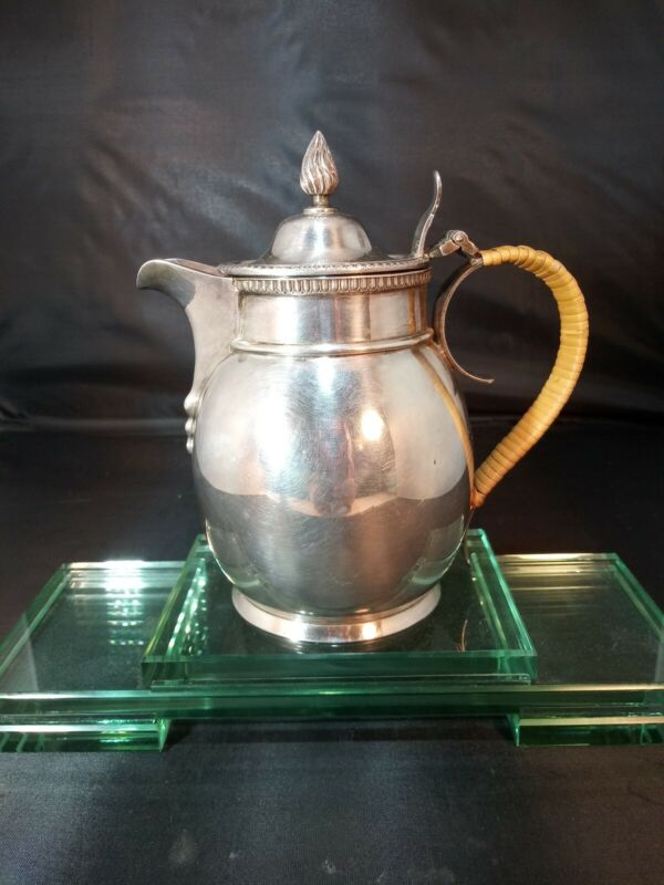 Old English Silver Plate Jug Circa 1885
