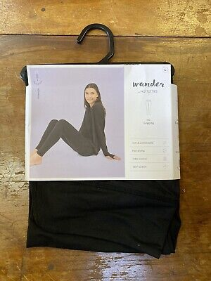Wander by Hottotties Women's Mid-weight Legging - Size L- Black