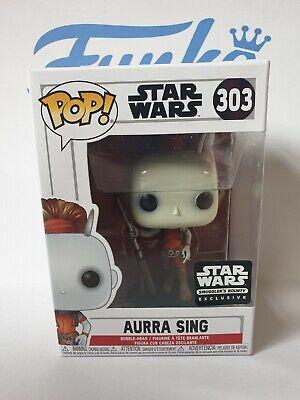 Star Wars Aurra Sing #303 Smugglers Bounty Exclusive Funko Pop! - Vaulted
