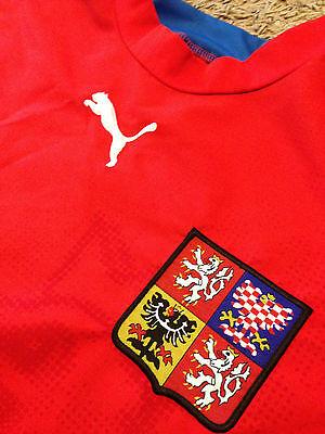 Rare Czech Republic World Cup Puma Jersey 2007/2009 Soccer Football Club Team image