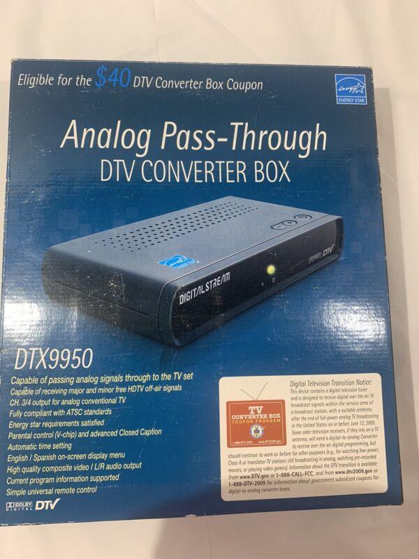 dxt9950 converter box. New